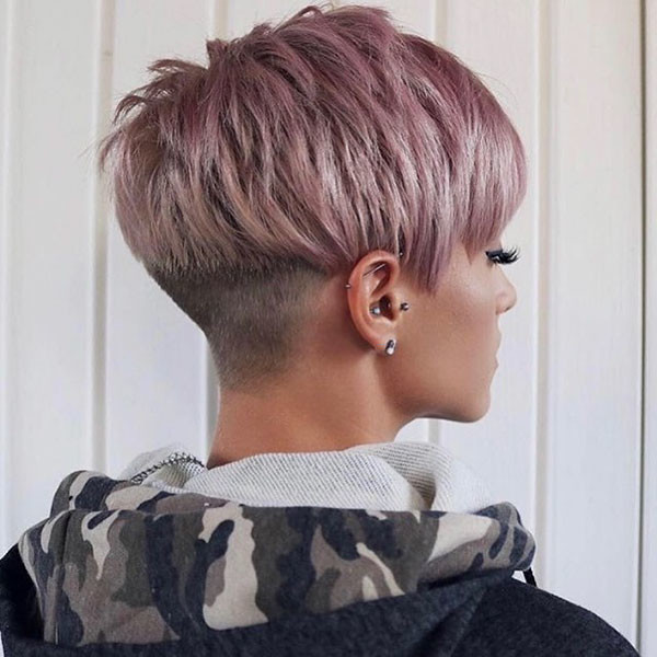 Pixie-Hairstyle-Color-İdeas Best Pixie Cut 2019