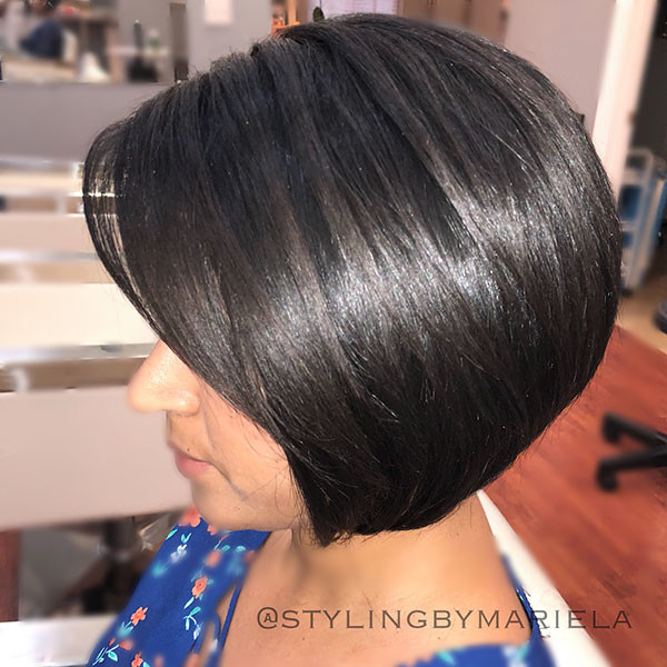 Short-Bob-Hairstyle-for-Thick-Hairstyles Best New Bob Hairstyles 2019