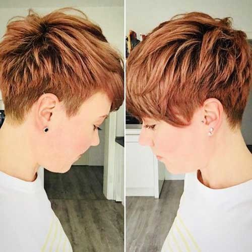 Short-Copper-Hair-2018 Best Short Haircuts for 2018-2019
