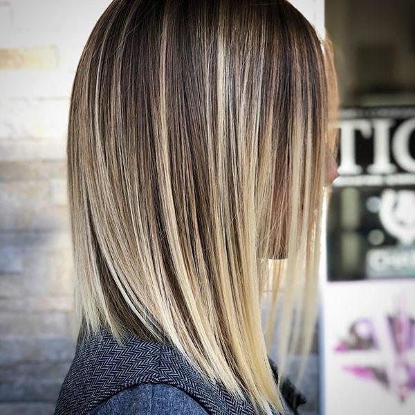 Short-Dark-Blonde-Hair Short Straight Hairstyles 2019