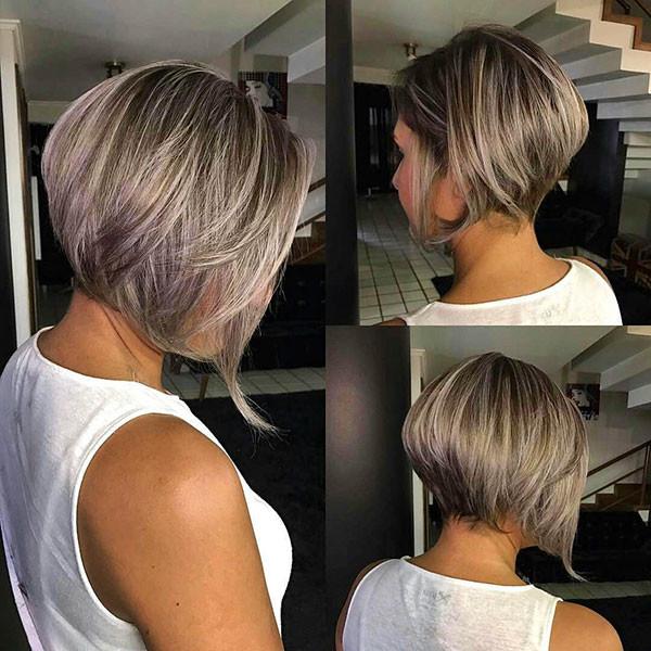 Short-Layered-Bob-Hairstyle-1 Best New Bob Hairstyles 2019