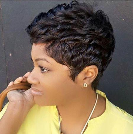 Short-Pixie-Hairstyles-for-Black-Women Best Short Pixie Hairstyles for Black Women 2018 – 2019