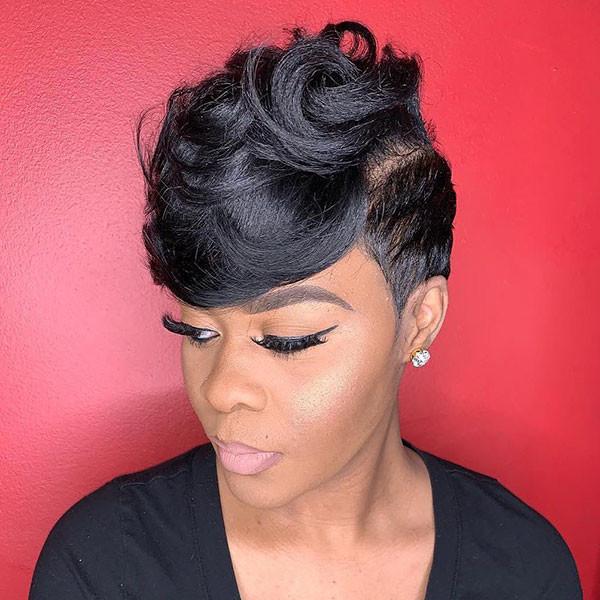 Short-Prom-Hair Short Haircuts for Black Women 2019