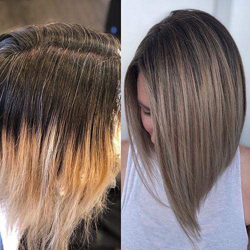 Short-Straight-Bob-Haircut Popular Short Haircuts 2018 – 2019
