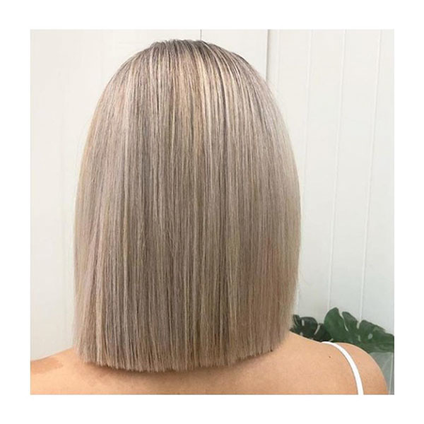 Short-Straight-Hair-Back-View Short Straight Hairstyles 2019