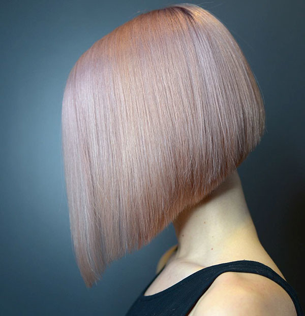 Short-Straight-Hair-Color Short Straight Hairstyles 2019