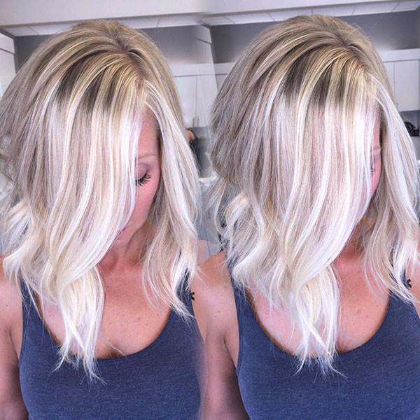 Short-Wavy-Bob-Thin-Hair Popular Short Wavy Hairstyles 2019
