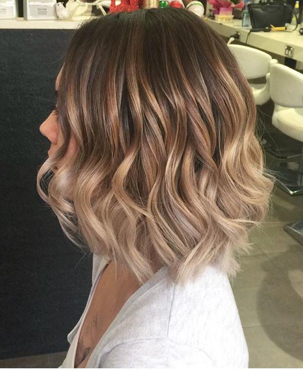 Short-Wavy-Hairstyles Popular Short Wavy Hairstyles 2019