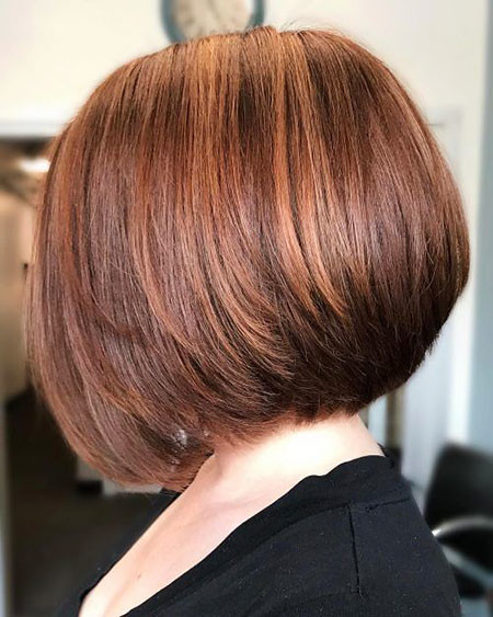 Sleek-Bob-Cut Short Bob Haircuts 2019