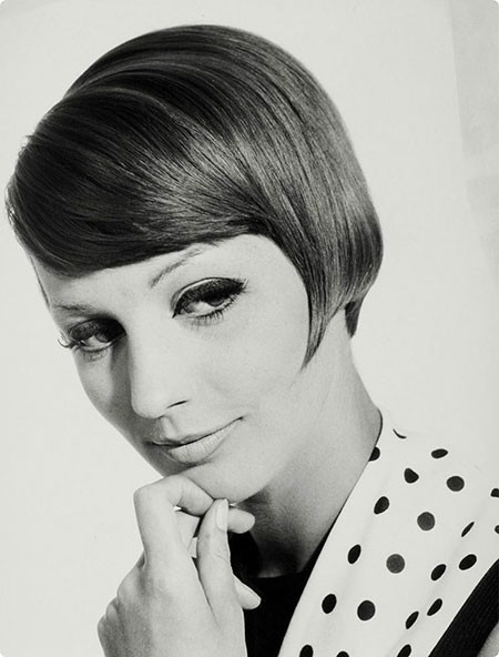 Sleek-and-Neat-Hair 1960's Short Hairstyles