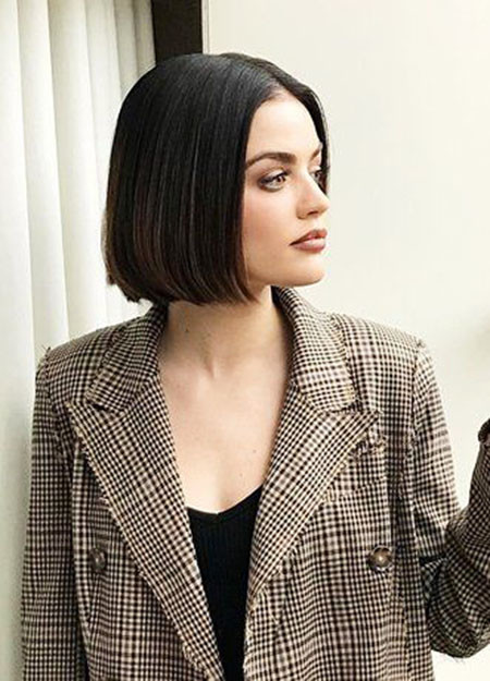 Straight-Hair-1 Short Bob Haircuts 2019