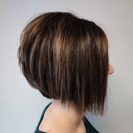 Straight-Hair-3 Short Inverted Bob Hairstyles