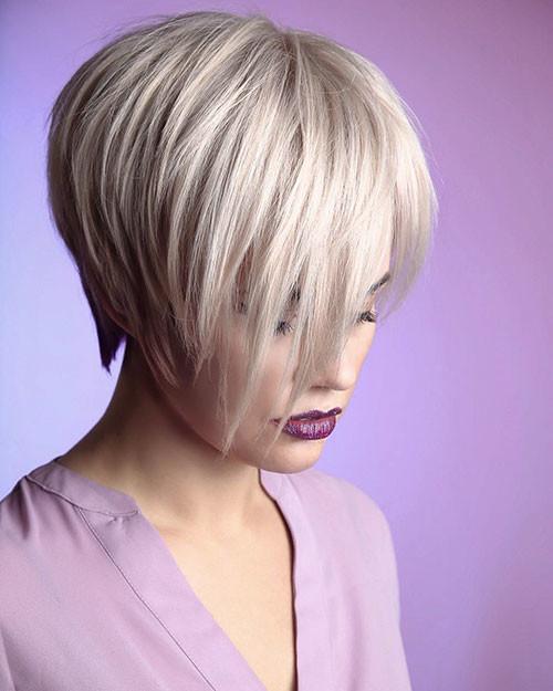 Straight-Hair Short Layered Haircuts 2018 – 2019