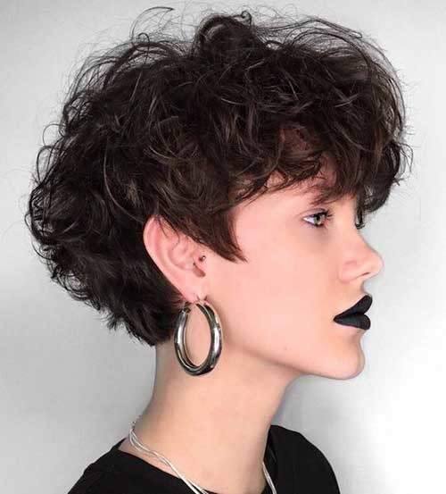 Thick-Hair-Style-for-Women-2018 Best Short Haircuts for 2018-2019