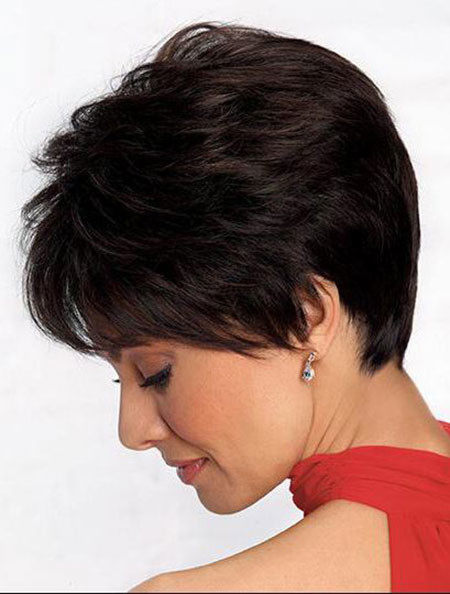 Thick-Pixie-Haircut-1 Best Pixie Haircuts for Over 50 2018 – 2019