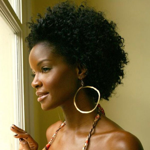 Tomiko-Fraser-short-curly-hair Best Black Short Hairstyles for Women