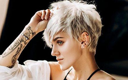 Trendy-Pixie-Hair Trendy Short Hairstyles 2019