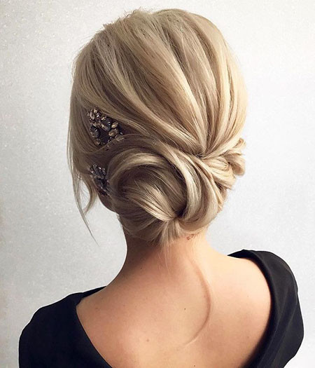 Wedding-Updo Upstyles for Short Hair