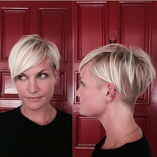 24-pixie-cut-with-side-swept-bangs Best New Short Hair with Side Swept Bangs