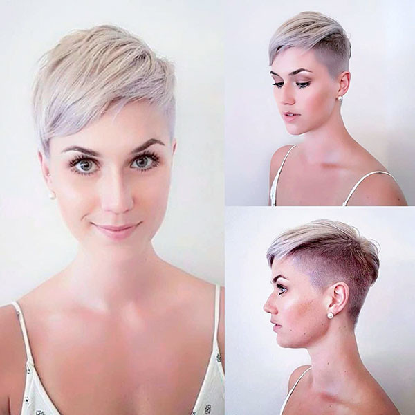 25-blonde-pixie-cut New Pixie Haircut Ideas in 2019