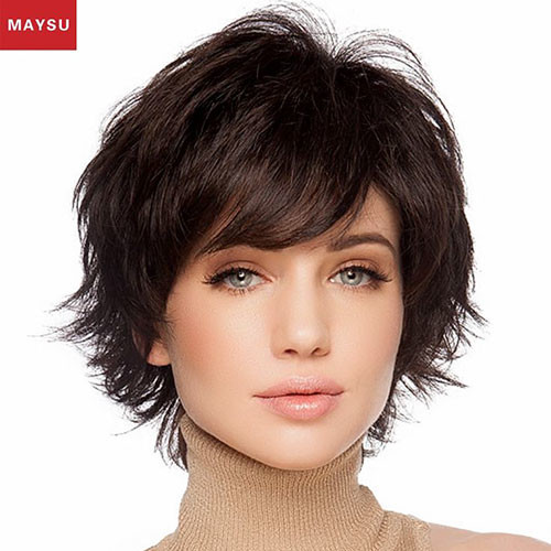 29-short-hair-with-side-swept-bangs Best New Short Hair with Side Swept Bangs