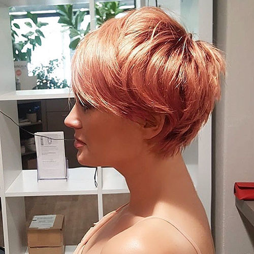 51-pixie-cut-with-side-swept-bangs Best New Short Hair with Side Swept Bangs