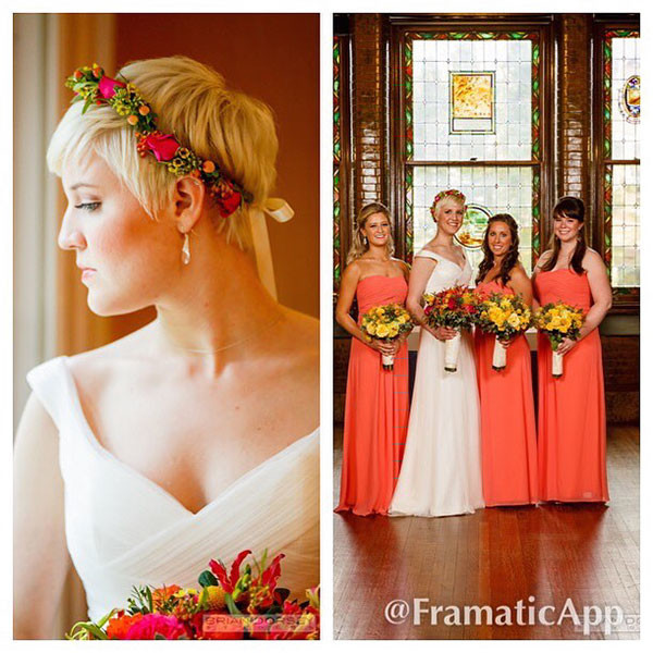 Adorable-Pixie Wedding Hairstyles for Short Hair 2019