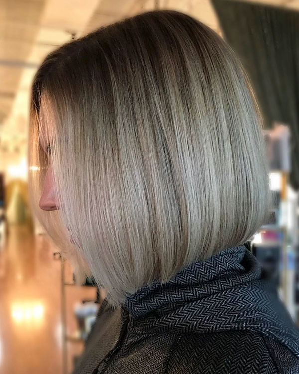 Ash-Blonde New Best Short Haircuts for Women