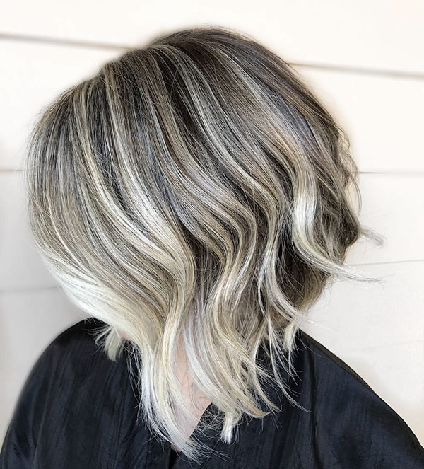 Ash-Grey New Best Short Haircuts for Women