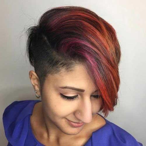 Asymmetrical-Haircut New Short Haircut Trends Women 2019