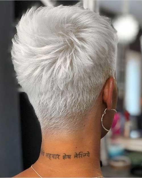 Back-View-of-Short-Haircut New Short Haircut Trends Women 2019