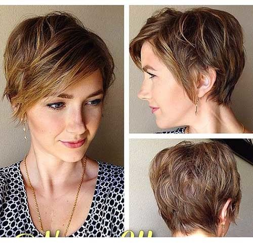 Best-Short-Hair-for-Long-Face Cute Short Hairstyles and Cuts You Have to See