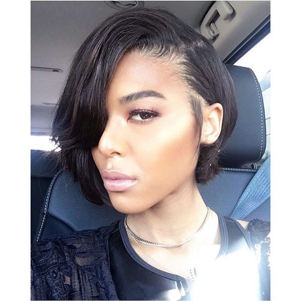 Black-Bob-Hairstyle Best Bob Hairstyles for Black Women Pictures in 2019