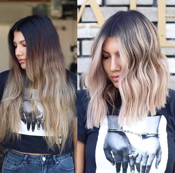 Blonde-Bob-Hair Beautiful Short Hair for Girls