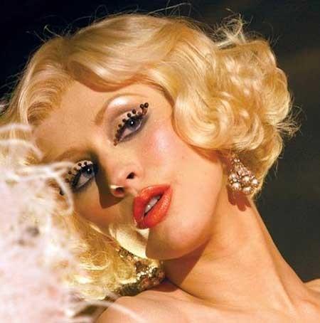 Blonde-Curly-Vintage-Tips Vintage Hairstyles Short Hair