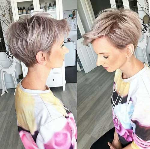 Blonde-Hair-5 Best Short Fine Hairstyles Women 2019
