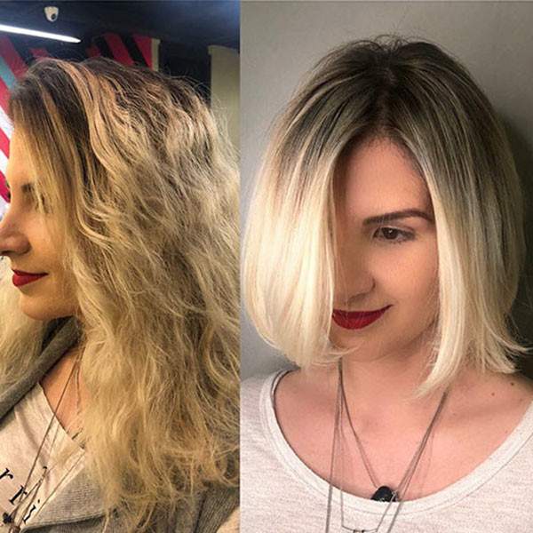 Blonde-Ombre-for-Short-Hair New Short Blonde Hairstyles