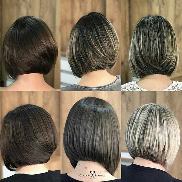 Bob-Haircut-Back-Views Popular Bob Hairstyles 2019