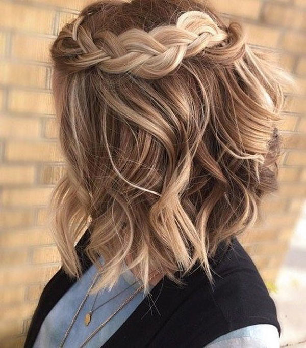 Braided-Hairstyle-for-Short-Hair Amazing Braids for Short Hair
