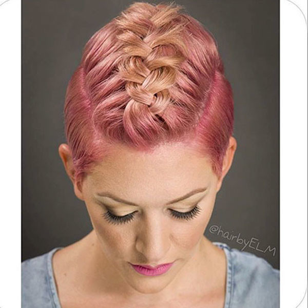Braided-top Amazing Braids for Short Hair