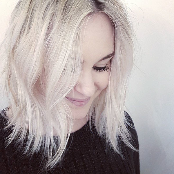 Choppy-Ends Popular Short Hairstyles for Fine Hair