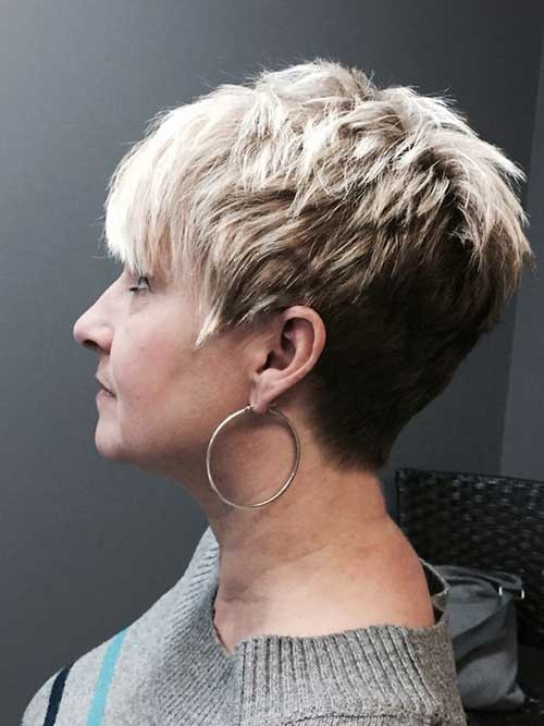 Choppy-Pixie-Cut Chic Short Haircuts for Women Over 50