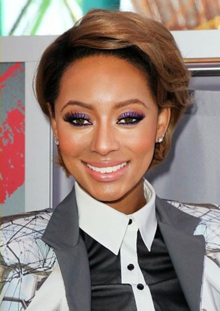 Classic-Style Keri Hilson Short Hairstyles