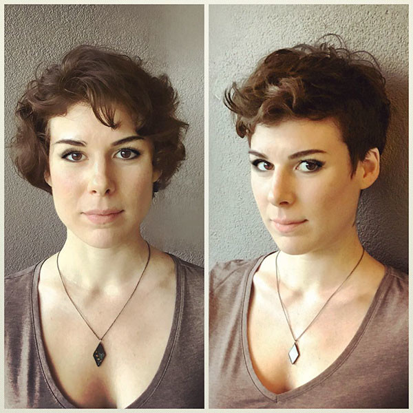Curly-Pixie-Style-1 Best Short Curly Hair Ideas in 2019