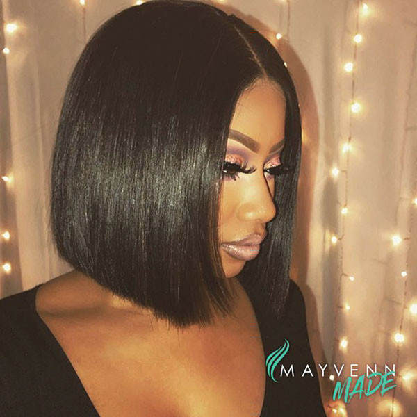 Cute-Bob-Cut-1 Best Bob Hairstyles for Black Women Pictures in 2019