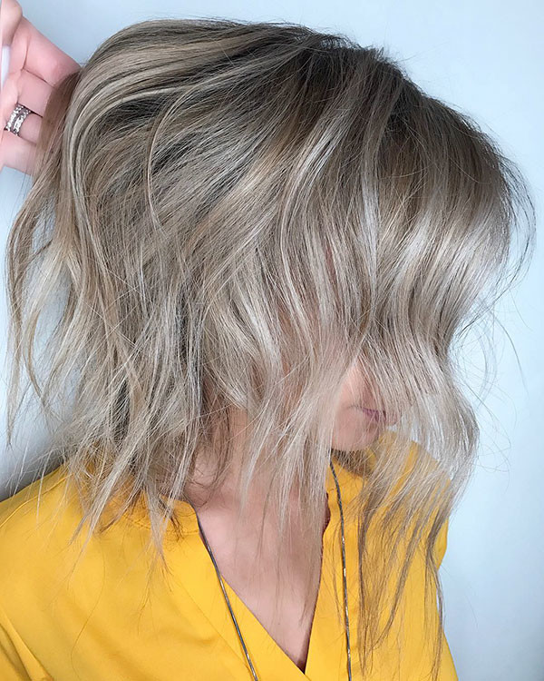 Cute-Bob-Cut Popular Short Hairstyles for Fine Hair