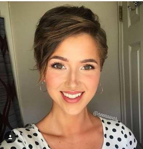 Cute-Hairstyle-1 Best Short Fine Hairstyles Women 2019