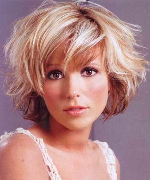 Cute-Hairstyles-Short-Wavy-Hair Short Haircuts for Wavy Hair