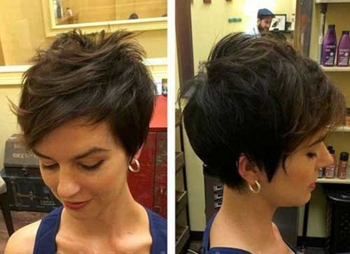 Cute-Longer-Pixie-Cut Cute Short Hairstyles and Cuts You Have to See