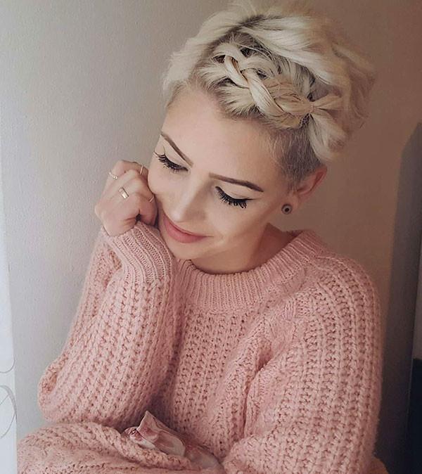 Cute-Pixie-2 Amazing Braids for Short Hair